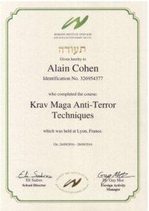 Anti Terror Instructor