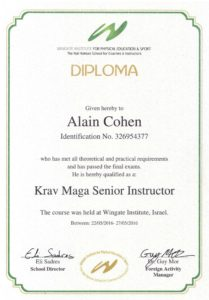 Krav Maga Senior Instructor